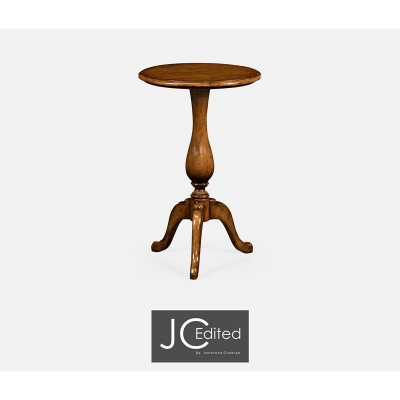 Jonathan Charles Country Walnut Tall Cocktail Table