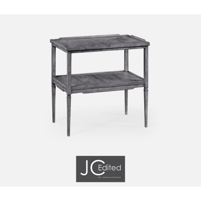 Jonathan Charles Antique Dark Grey Side Table