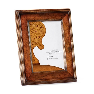 Jonathan Charles Country Walnut Picture Frame