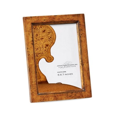 Jonathan Charles Laurel Burr Walnut Picture Frame