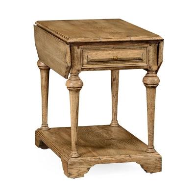Jonathan Charles Elizabethan Pembroke Natural Oak Table