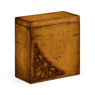 Jonathan Charles Raised Celtic Veneer Tall Box