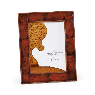 Jonathan Charles Oyster Veneered Picture Frame