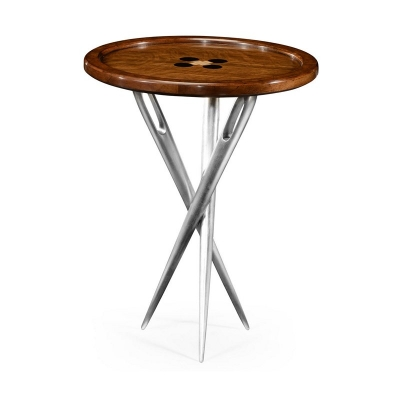 Jonathan Charles Inch Cute As A Button Inch Side Table