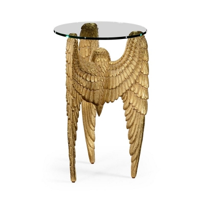 Jonathan Charles Three Winged End Table