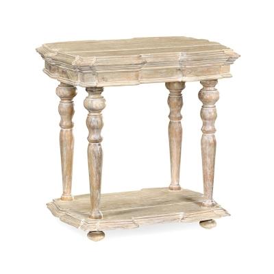 Jonathan Charles Limed Acacia Side Table