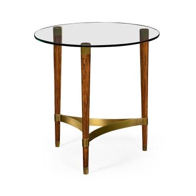 Jonathan Charles Hyedua Wood Lamp Table