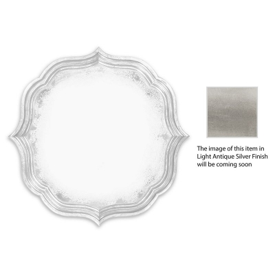 Jonathan Charles Round Antique Mirror