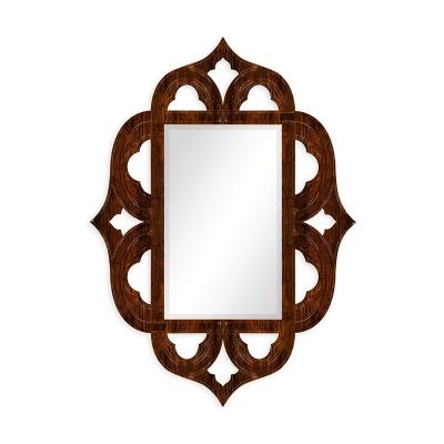 Jonathan Charles Rustic Walnut Mirror