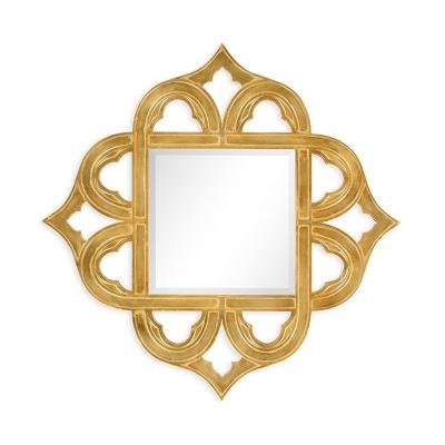 Jonathan Charles Gilded Gold Leaf Mirror