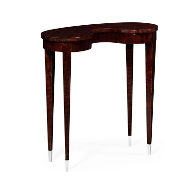Jonathan Charles Kidney Shaped End Table