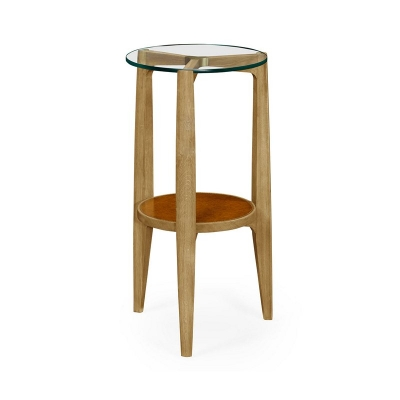 Jonathan Charles Architectural Round End Table
