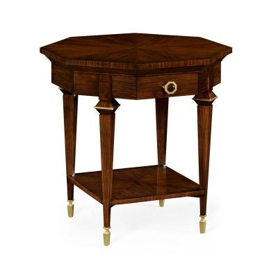 Jonathan Charles Octagonal Lamp Table