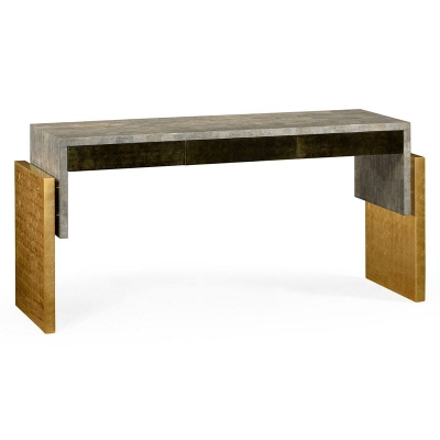 Jonathan Charles Rectangular Console Table with Drawers