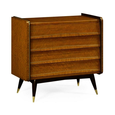 Jonathan Charles Mid Century Chest of Drawers