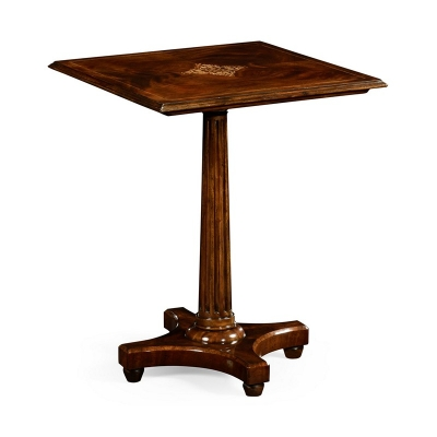 Jonathan Charles William IV Style Mahogany Side Table