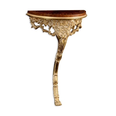 Jonathan Charles Carved and Gilded Bracket Console