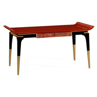 Jonathan Charles Red Emperor Desk