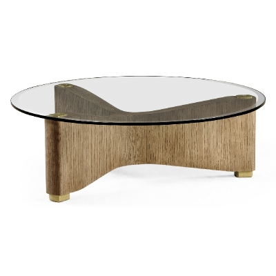 Jonathan Charles Round Cocktail Table