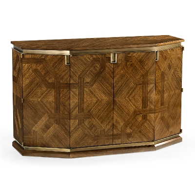 Jonathan Charles Parquetry Cabinet