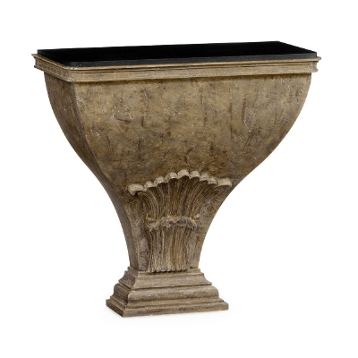 Jonathan Charles Luccata Country Distressed Console Table