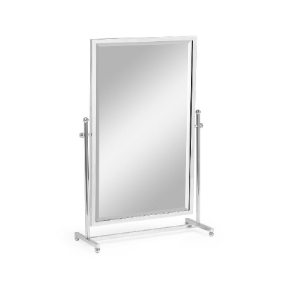 Jonathan Charles Tilt Stainless Steel Dressing Table Mirror