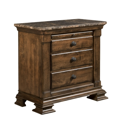 Kincaid Bachelors Chest with Marble Top