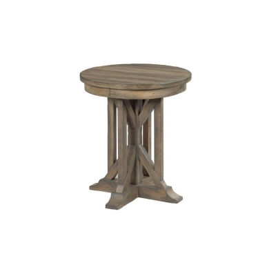 Kincaid 22 inch James Round End Table