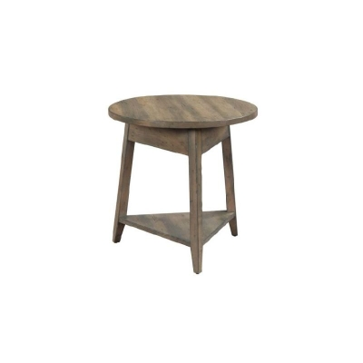 Kincaid 24 inch Bowler Round End Table