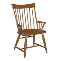Kincaid Arm Chair (Wood Seat)