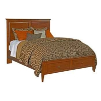 Kincaid Panel Bed w/storage - Queen