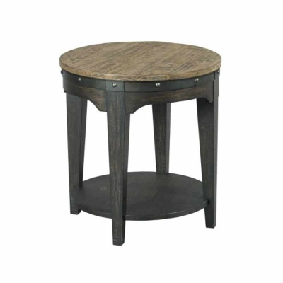 Kincaid Artisans Round End Table