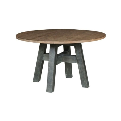 Kincaid Layton 52 inch Round Dining Table Complete