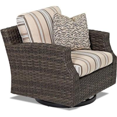 Klaussner Outdoor Swivel Glider Chair