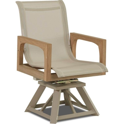 Klaussner Outdoor Swivel Rocking Dining Chair