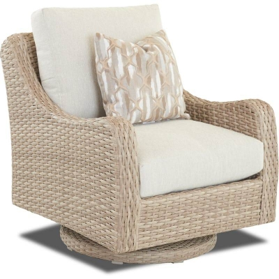Klaussner Outdoor Swivel Rocking Chair
