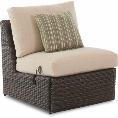 Klaussner Outdoor Power Reclining Armless Chair