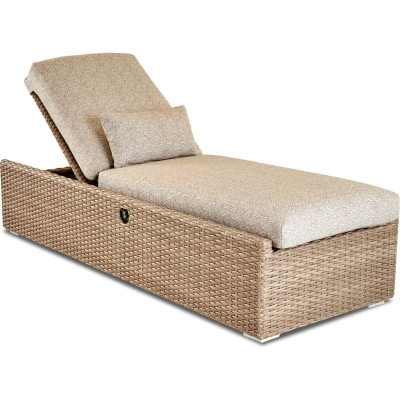 Klaussner Outdoor Power Reclining Chaise