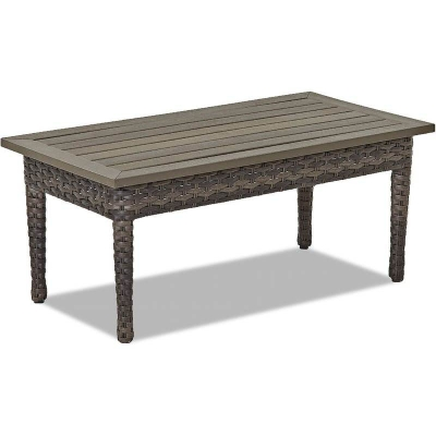 Klaussner Outdoor Rectangular Cocktail Table