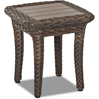 Klaussner Outdoor Square Accent Table