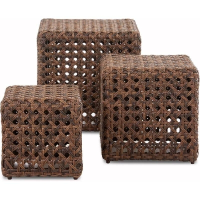 Klaussner Outdoor 3 Pack Cube Set