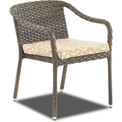 Klaussner Outdoor Stack Drc with Reversible Cushion