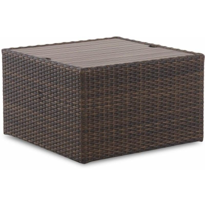 Klaussner Outdoor Canyon Square Cocktail Table