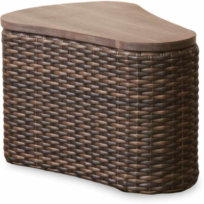 Klaussner Outdoor Oval End Table