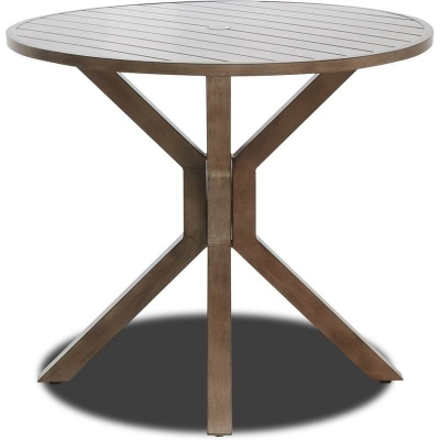 Klaussner Outdoor Bar Height Table 42 Inch Round