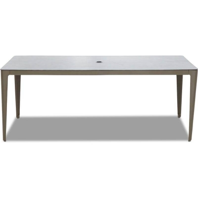 Klaussner Outdoor Rectangular Dining Table 79 Inch