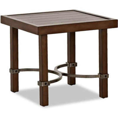 Klaussner Outdoor Yearwood Square End Table