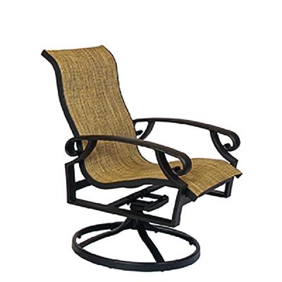 Lane Venture High Back Swivel Dining Chair