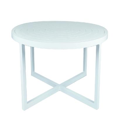 Lane Venture Round Dining Table Aluminum Top