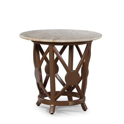 Lane Venture round End Table